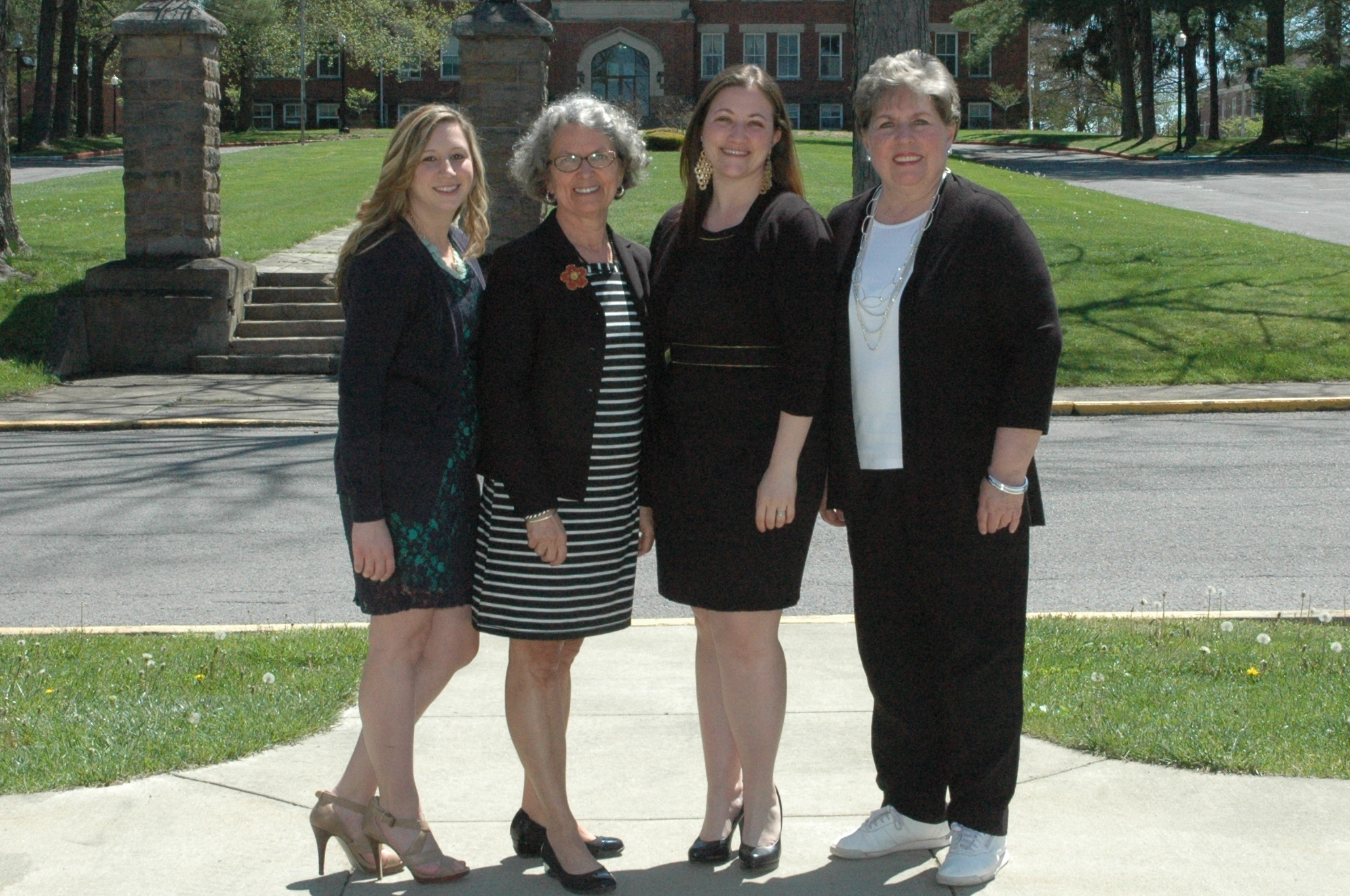 CCE Staff from L-R: Jessica Vincent, LeeAnn Brown, Katie Loudin, Linda Hicks