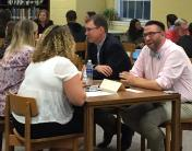 Alumni/Student Speed-Networking a Success